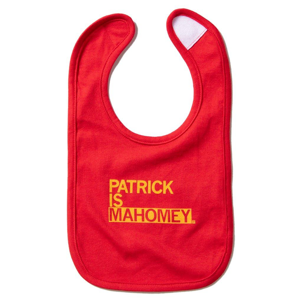 Patrick Is Mahomey Bib
