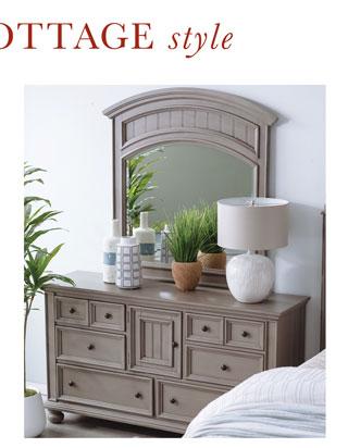 Dresser & Mirror for $681