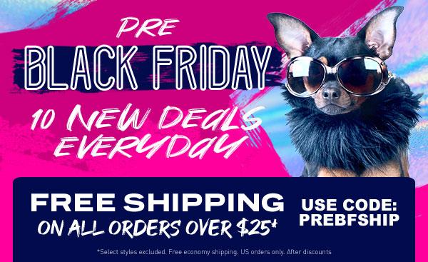 Pre Black Friday Deals!