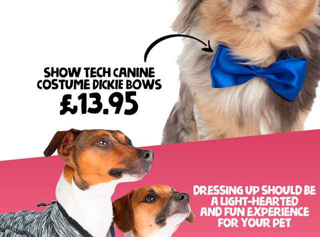 Shop Show Tech Canine Costume Dickie Bows