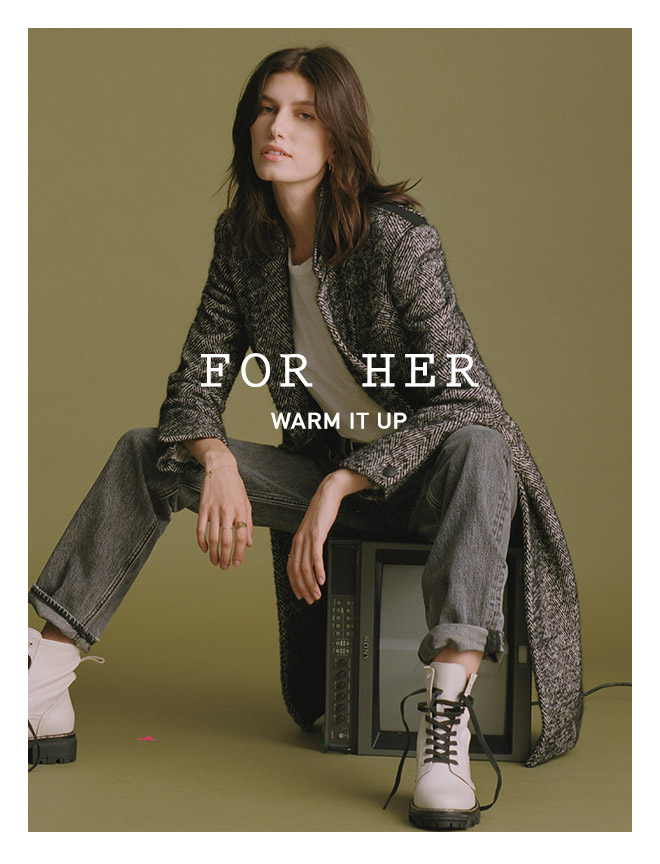 FOR HER - WARM IT UP