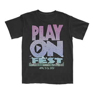 PlayOn Fest - T-shirt