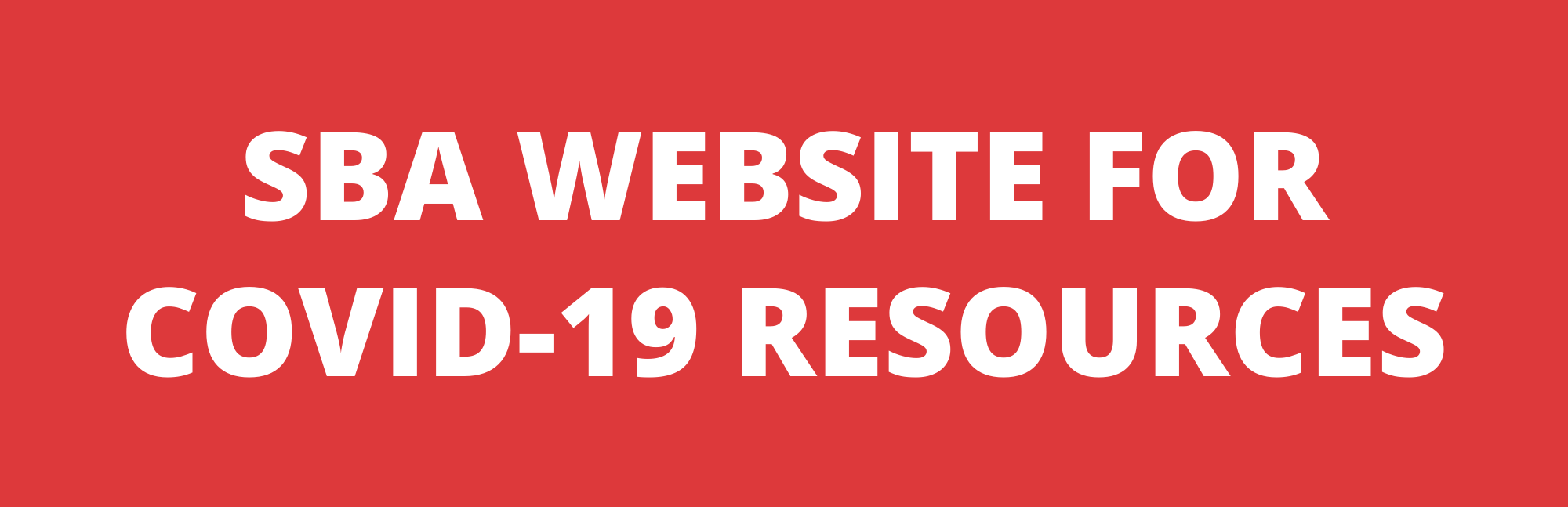 SBA Website for COVID-19 resources