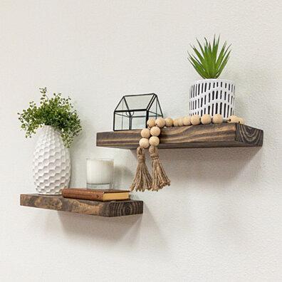Set of 2 True Floating Shelves