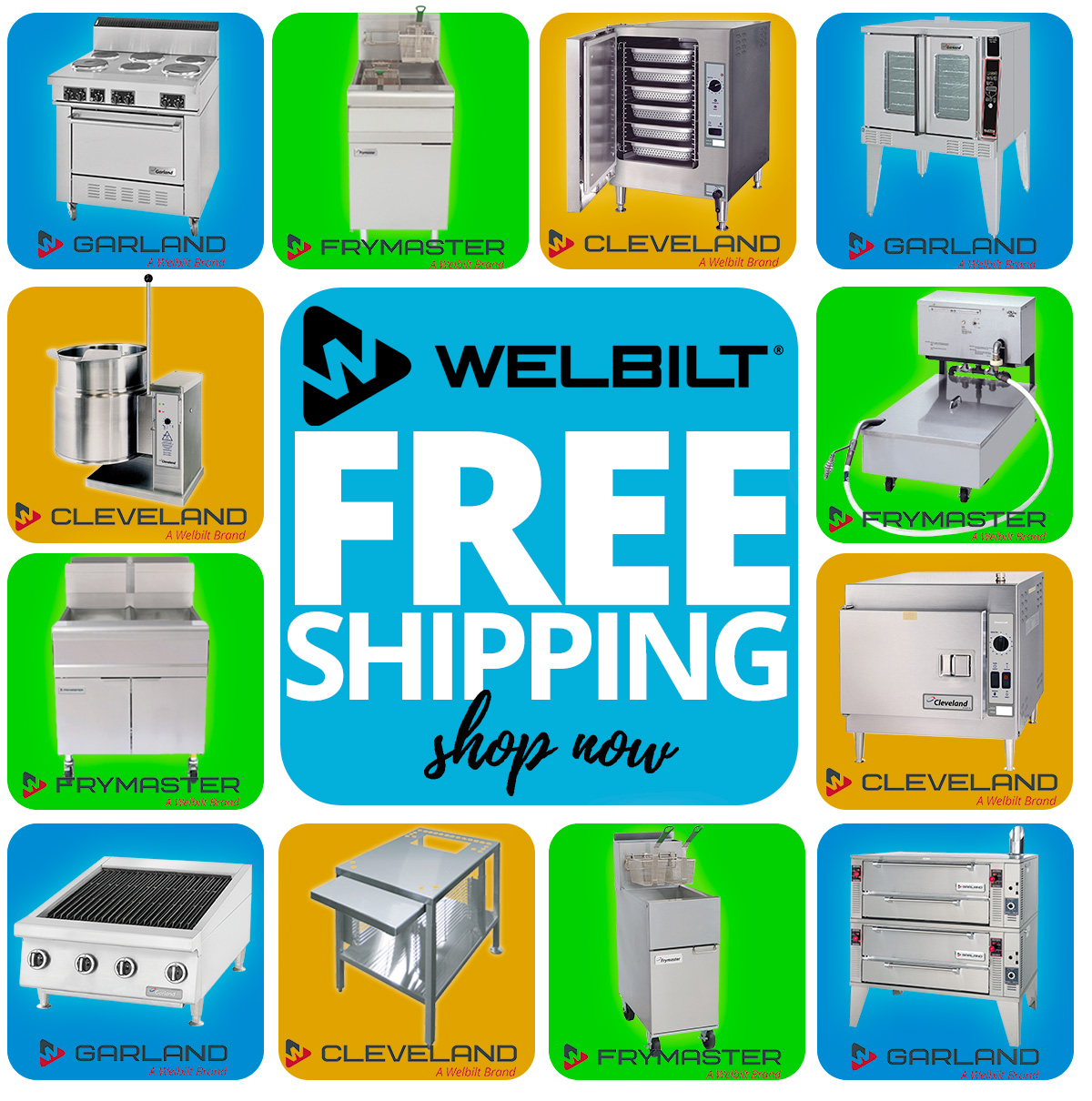 Get these deals such as FREE SHIPPING on Welbilt before time runs out!
