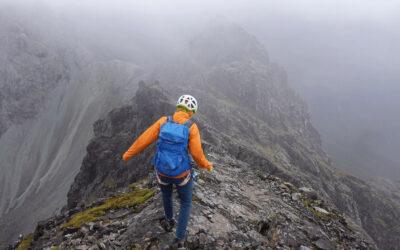 Tackling the Cuillin Ridge traverse