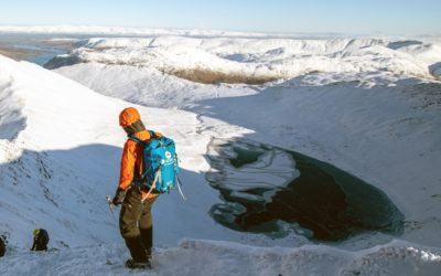 Book a Lake District Winter Skills Course on Helvellyn