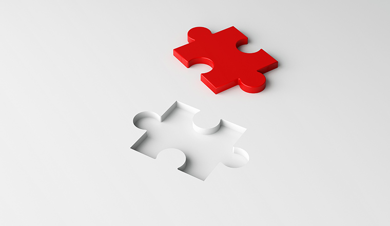 A picture of puzzle piece