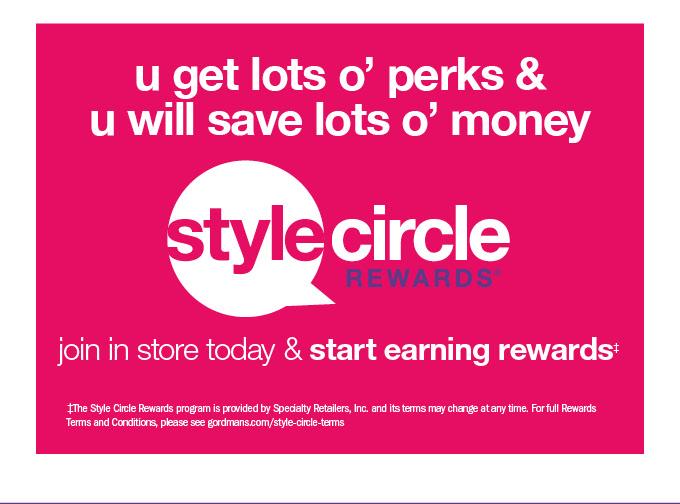U get lots o' perks &u will save lots o' money