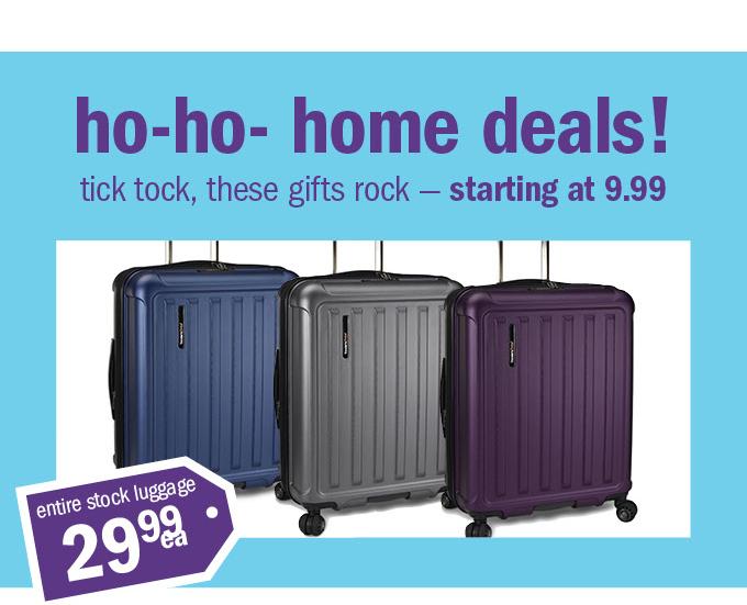 Ho-ho- home deals!