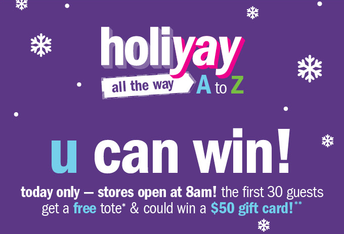 Holiyay all the way a to z u can win!