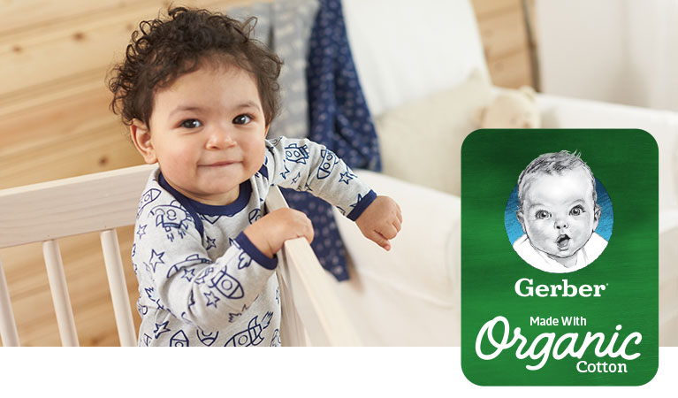 Gerber - Made with organic cotton clothing