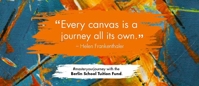 """""""Every canvas is ajourney all its own."""" - Helen Frankenthaler 