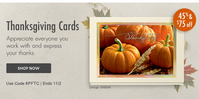 Shop Thanksgiving Cards