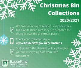 Christmas Bin Collection Poster