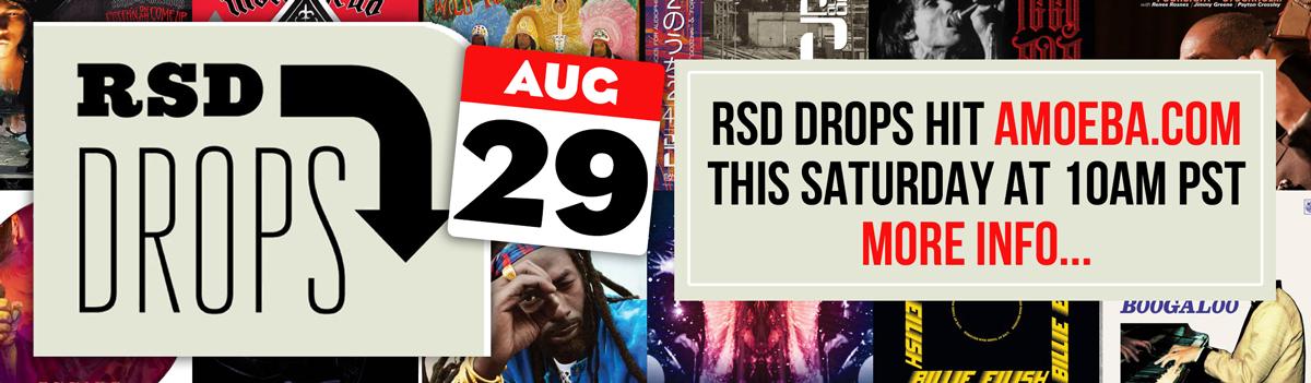 RSD Drops 2020 - August 29th