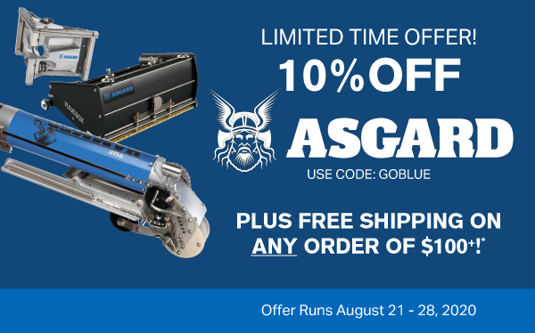 new asgard promo plus free shipping over $100