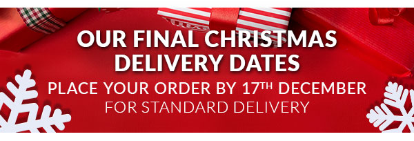 Our final Christmas delivery dates