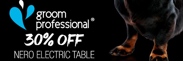 30% Off Groom Professional Nero Electric Table