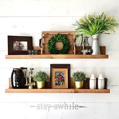 Floating Shelf, Wood Shelves, Wood Shelving, Wall Shelving, Shelf, Shelves, Book Shelves, Rustic, Shelving Unit, Bathroom Shelving