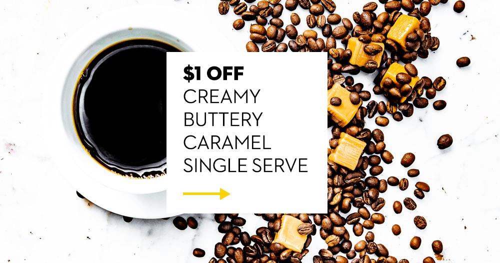 Creamy Buttery Caramel Single Serve