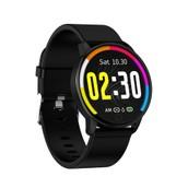 Makibes Q20 Smartwatch Blood Pressure Monitor 1.22 Inch Screen Black