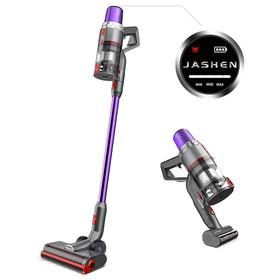 JASHEN V16 Cordless Vacuum Cleaner 350W 2500mAh Detachable SAMSUNG Battery 40 Mins Runtime