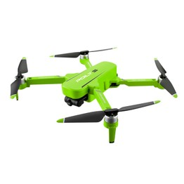 JJRC X17 6K 2-axis Gimbal GPS Drone Green Two Batteries with Bag