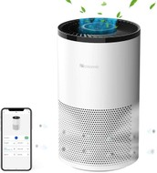 Proscenic A8 Smart Air Purifier 4-stage Filtration System White