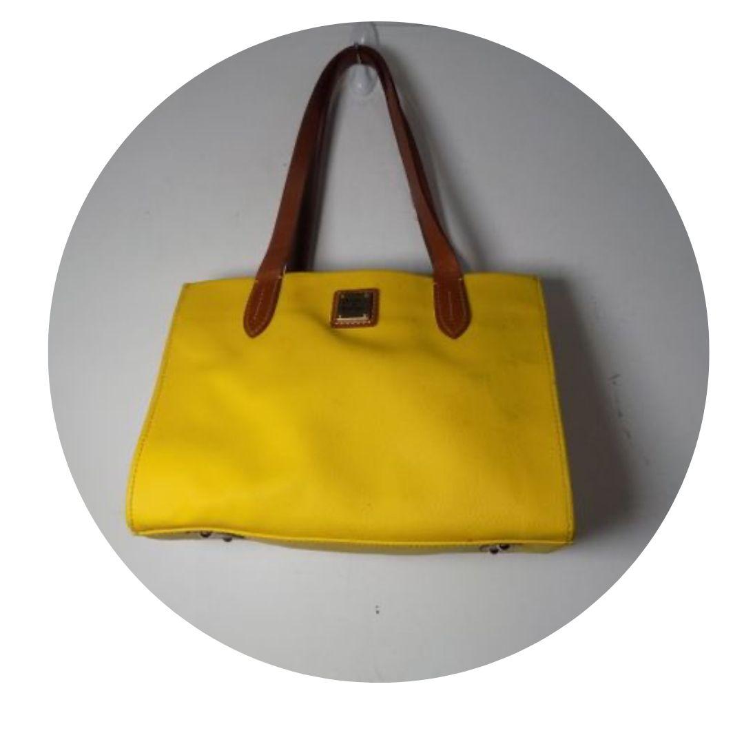Dooney & Bourke Bright Yellow Handbag