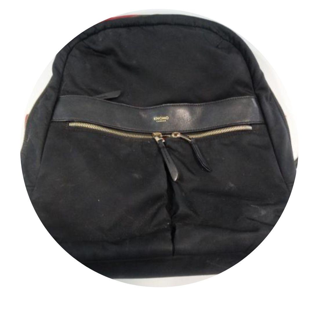Knomo London Black Backpack
