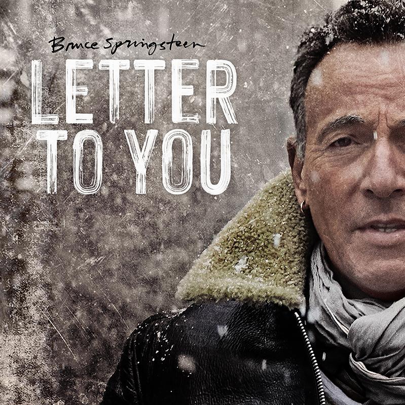 Bruce Springsteen ''Letter To You'' Album Art