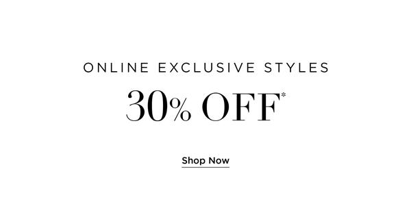 Online Exclusive Styles