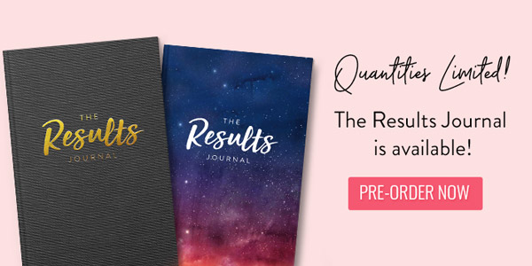 Get your Results Journal!