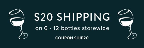 $20 shipping storewide