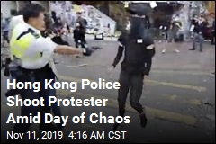 Hong Kong Police Shoot Protester Amid Day of Chaos