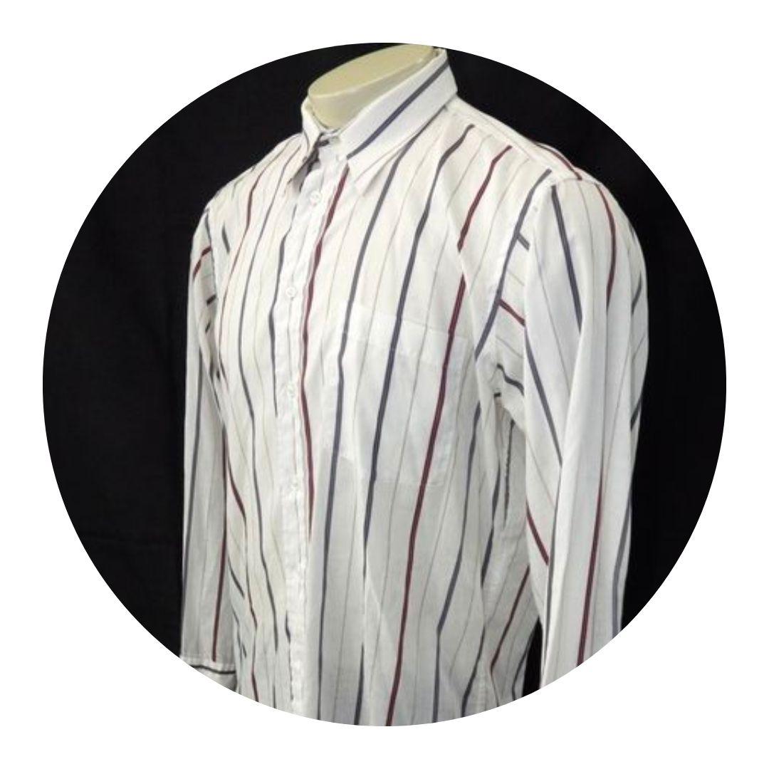Christian Dior Mens Button Down Shirt White