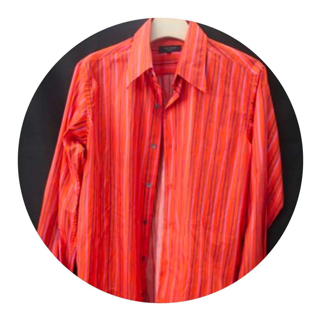 Ted Baker Button Down Orange Shirt