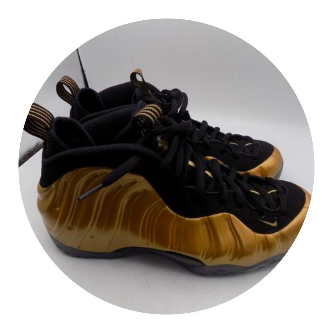 Nike Gold & Black Foamposites
