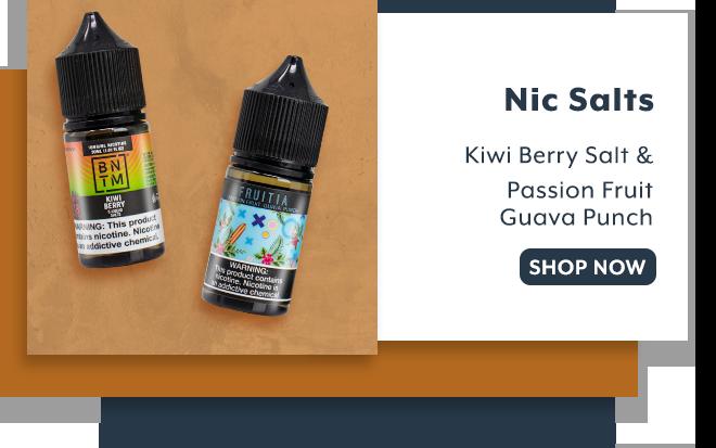 Shop Nicotine Salts