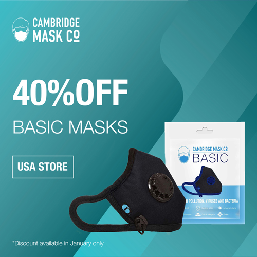 40% OFF BASIC MASKS
