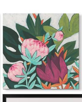 Jungle Jewel I by June Erica Vess