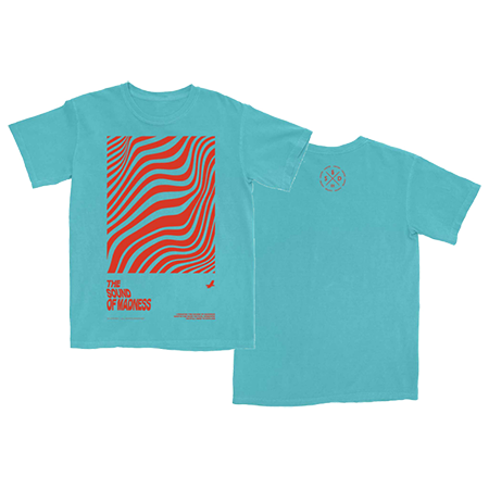 Shinedown - Sound Of Madness T-Shirt (Turquoise) Image