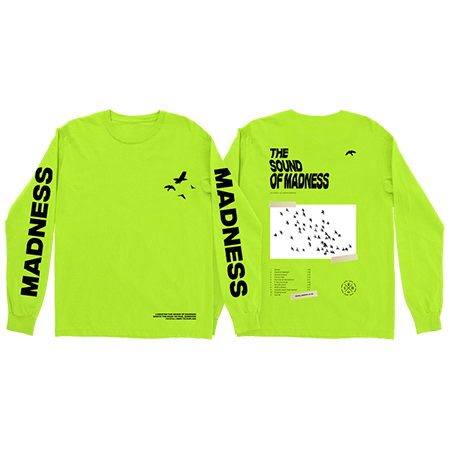 Shinedown - Sound Of Madness Long Sleeve (Neon) Image