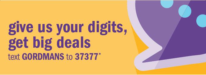 Give us your digits, get big deals