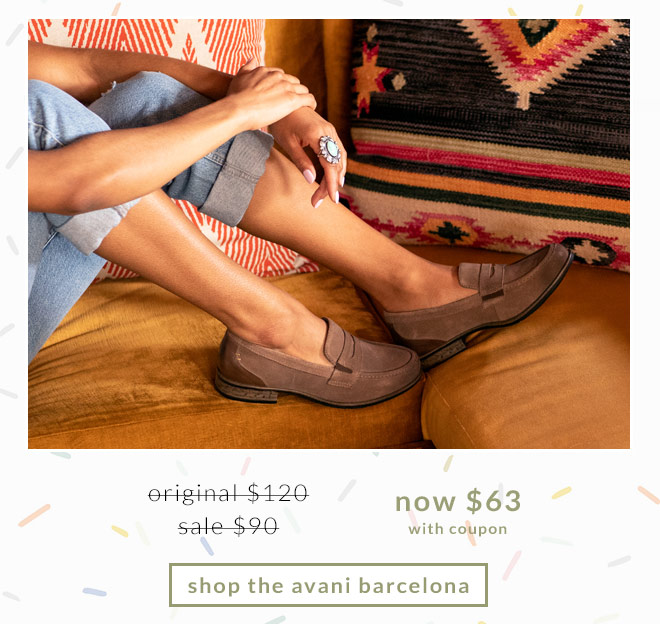 Original $120, Sale $90, Now $63 (with coupon) Shop the Avani Barcelona.