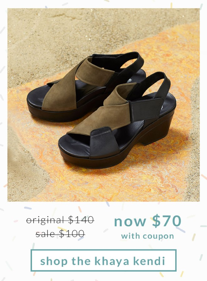 Original $140, Sale $100, Now $70 (with coupon) Shop the Khaya Kendi