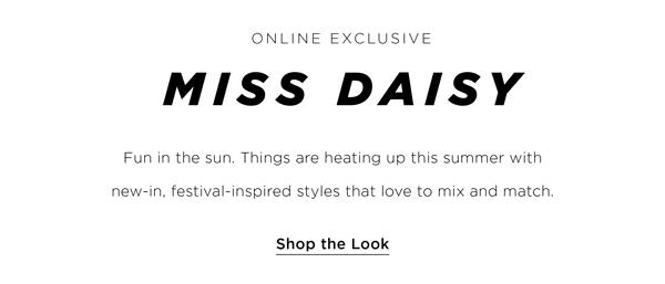 New Arrivals   Miss Daisy