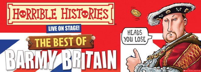 Horrible Histories The Best Of Barmy Britain 11 October