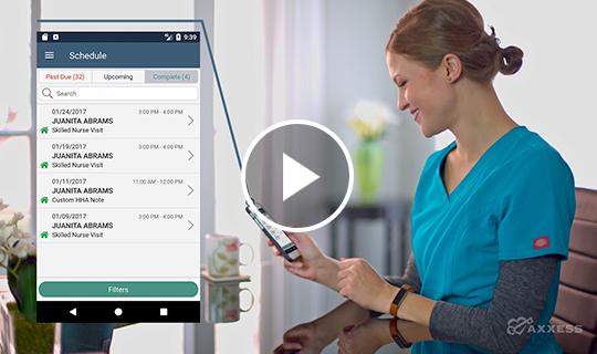 Watch Axxess HomeCare Mobile Video